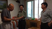 中共朝阳区武装部史连雪政委来望京南湖中园社区慰问党员