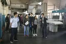 市区两级安监部门到望京进行工作调研