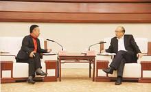 河北省长许勤会见中集集团CEO兼总裁麦伯良