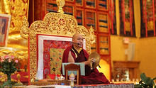 轉:法王噶瑪巴於噶瑪三乘法輪寺迎接藏曆新年