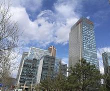 望京核心区:楼群天际线是发达国家市中心的景象