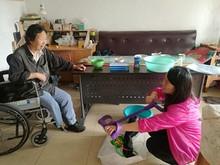 东湖街道残疾人在家享受的个性化、精细化康复服务