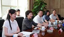 区人大副主任朱春霞到东湖爱慕大厦调研倪书记、徐主任陪同
