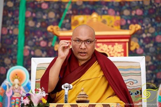 官網: 2018年第九屆北美噶舉大祈願法會.法王噶瑪巴「三主要道」課程.第二天