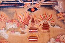 《普度明太祖長卷圖》又名《噶瑪巴為明太祖薦福圖》