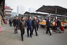 朝阳区副区长刘海涛带队到望京街道调研指导工作