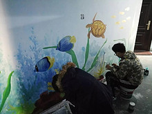 望京花家地西里社区多彩楼门文化墙,我们来参与!