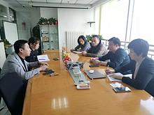 望京街道工委书记胡建东走访辖区企业