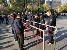 望京街道开展安全体验活动