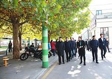 街道系统党政正职到望京街道南湖西里社区调研