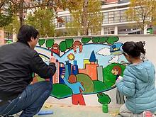 望京花园社区新时代文明实践——童心共绘家园梦