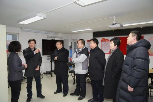 北京市委常委、组织部部长魏小东到望京街道调研