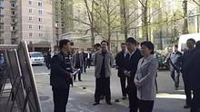 朝阳区委吴桂英书记到望京调研
