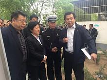 朝阳区区委书记吴桂英、区长王灏等领导到望京南湖中园调研