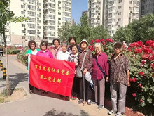 """望京花园社区:美化小区环境,庆祝""""一带一路""""成功召开"""
