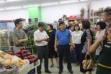区商委、区社会办、首农集团领导到望京街道调研疏减稳工作