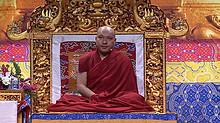 法王噶瑪巴首次加拿大弘法 .「佛教的根道果」第一堂課