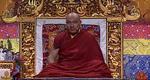 法王噶瑪巴首次加拿大弘法 .「以禪修獲得解脫」開示