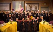 法王噶瑪巴參訪溫哥華靈巖山寺