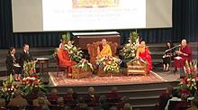 法王噶瑪巴首次加拿大弘法 .第四屆「對話」論壇