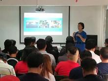 望京坝北村救援队进行第二次专业救援培训