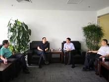东湖街道工委书记倪东新、办事处主任徐继锋走访望京综合开发产业区