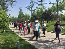 望京社区活动:迈开腿,向幸福生活出发