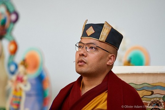 官網:2018年第九屆北美噶舉大祈願法會.法王噶瑪巴「三主要道」課程.第三天