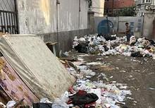 望京望花路西里 垃圾楼闲置了多年