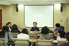 望京街道机关党支部学习 收看《为你而歌》电视系列片