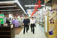 望京街道主要领导带队 兵分两路进行节前安全生产联合检查