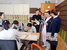 望京社区卫生服务中心为辖区社会单位来京务工人员免费接种疫苗