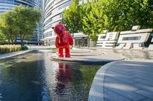 一群憨态可掬的小熊 悄悄出现在了望京SOHO