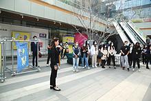 北京市第三中级人民法院组织新入职干警到望京小街参观学习