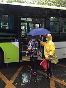 """雨中,""""柠檬黄""""感动了很多人"""