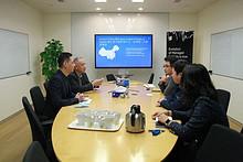 走访企业送服务 共同交流促发展︱工委书记带队走访辖区企业