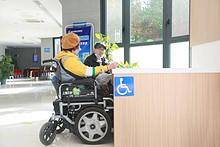 用心关爱残疾人群体 东湖街道开展无障碍体验活动
