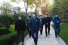"""大望京社区""""首都绿化美化花园式社区""""创建活动今日验收"""