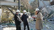 东湖街道持续推进违法建筑拆除工作