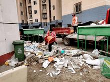 接诉即办 | 花家地南里:装修垃圾随处扔,社区积极协调速清理