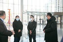 【疫情防控】街道领导检查辖区疫情防控工作,严格落实疫情防控措施