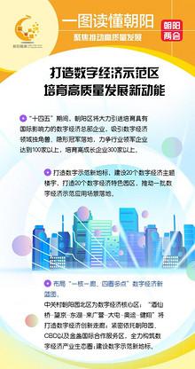 """2021朝阳两会丨布局""""一核一廊、四圈多点"""" 朝阳区发力数字经济示范区"""