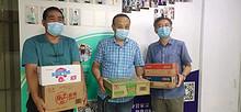 东湖街道总工会慰问抗击新冠肺炎疫情防疫一线工作人员