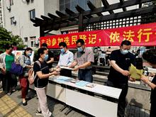 区人大换届选举东湖街道分会开展集中宣传周活动