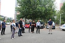 走、听、察、改,东湖街道拉练检查深化文明城区建设