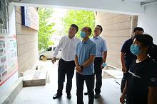 朝阳区副区长王志勉到望京街道督导深化文明城区创建工作