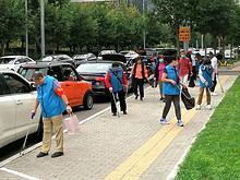 大望京社区开展节前志愿者活动